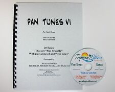 "Steel Drum Play Along Book ""Pan tunes 6"""