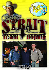 George Strait Team Roping 2013 DVD  USTRC  PRCA rodeo NFR