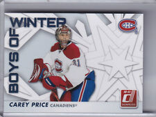 2010-11 DONRUSS #63 CAREY PRICE BOYS OF WINTER MONTREAL CANADIANS 4204