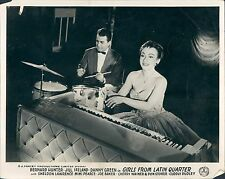 GIRLS OF FROM THE LATIN QUARTER ORIGINAL LOBBY CARD CHERRY WAINER