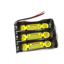 2 x 3S1P 11.1V 18650 Holder Case Battery w/ Li-ion PCM Protection Circuit Module