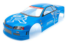 RCG Racing Nissan Skyline GTR Body Shell 190mm Blue S020Blue