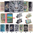 New Pretty Prints Folio Standing PU Leather Cover Cases For Samsung Galaxy Tab