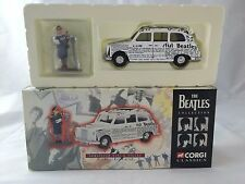 1997 THE BEATLES COLLECTION Newspaper Taxi & Figure CORGI CLASSICS