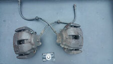 Bmw E46 330i Front Brake calipers/pipes/Carriers,upgrade,Perfect working order