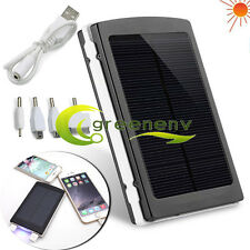 80000mAh Portable Solar Waterproof Dual USB External Battery Charger Power Bank