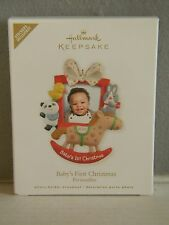 BABY'S FIRST CHRISTMAS - PERSONALIZE - PHOTO HOLDER - HALLMARK ORNAMENT - 2012