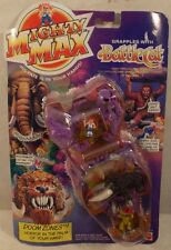 Mighty Max - Doom Zones Grapples With Battle Cat Playset Caveman Mammoth (MOC)