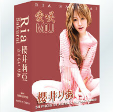 Sex A Deck Poker Sexy Girl Japanese AV Ria Sakurai playing card of 54pcs cards