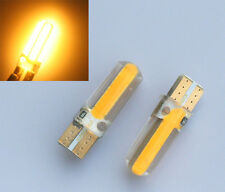 10x Gelb/Amber T10 W5W CANBUS 20 SMD COB LED Lampe Innenraum Beleuchtung 12V DC