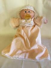 Vintage 1983 Coleco Cabbage Patch Kid Preemie Girl Doll Bald Pacifier 2 Dimples
