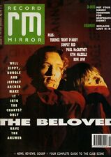 The Beloved on Magazine Cover 20 January 1990   Kym Mazelle   Adamski   D-Mob