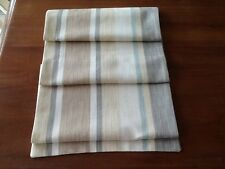 Laura Ashley Table Runner Awning Stripe Biscuit Eau de Nil Fully Lined. New!
