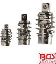 "BGS Tools 3 Piece Universal Joint Set With Spring 1/4"" - 3/8"" - 1/2"" 252"
