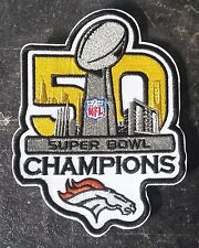 NFL PATCH RICAMATE Bowl Patch 50 dimensioni circa 8,5 x 11,5 cm