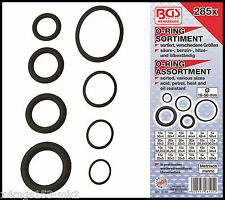 BGS - O Ring Assortment 285 Pcs Ø 18-50 mm Oil, Petrol & Heat Resist- Pro - 8105