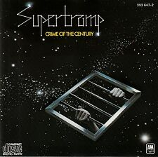 SUPERTRAMP : CRIME OF THE CENTURY / CD (A&M RECORDS 393 647-2)