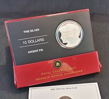 "2005 Canada Proof 10$ Coin ""Year Of The Veteran"" (25.175 Gr .9999) 03449/20000"