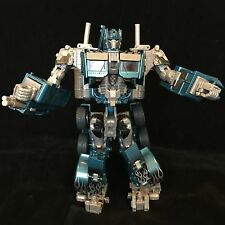 """Blue OPTIMUS PRIME Transformers 10"""" Action Figure Toy With Light & Sound Effects"""