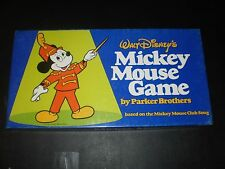 WALT DISNEY'S MICKEY MOUSE GAME PARKER BROTHERS 1976