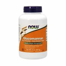 Glucomannan, 100% Pure Powder, 8oz (227g), NOW Foods, 24Hr Dispatch