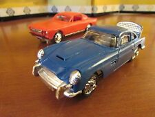 RAREST GILBERT SLOT CARS ASTON MARTIN MUSTANG for JAMES BOND 007 ROAD RACE SET