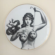 Porcelain Plate No 17 by Atelier Fornasetti