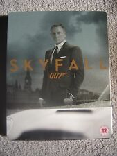 Skyfall Amazon UK Exclusive  SteelBook Blu-ray + DVD + Digital Copy Out of Print