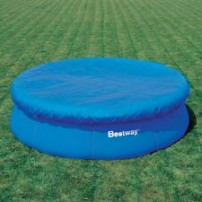 Bestway 12'ft Fast Set Outdoor Swimming Paddling Pool Safety Debris Cover 58034