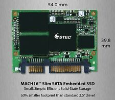 "Brand New Hitachi/STEC 50GB SSD Mach16 Slim SATA (1.8"")  5v SLC  M16SD2S-50"