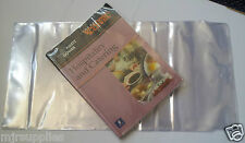 3 Pack  SCHOOL TEXT BOOK ADJUSTABLE COVERS 266mmm size clear plastic reusable!
