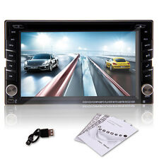 "6.2"" 2Din LCD Touch Screen In-Dash Car DVD Player with GPS,Bluetooth,iPod,ATV UK"