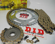EX650 650R NINJA '10/14 DID Gold X-Ring CHAIN AND SPROCKETS KIT *Premium Kit