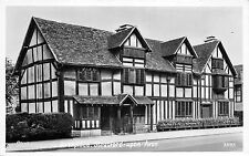 BR61270 stratford upon avon shakespeare s birthplace real photo   uk