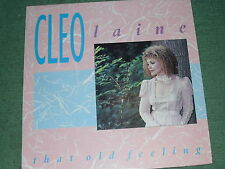 Music/L.P.  Cleo Laine. That Old Feeling.  Used.