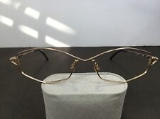 Vintage Cazal Point 2 Eyeglasses MOD 1149 887 53-17-130 Gold Frames Only T21