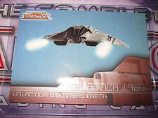 THE COMPLETE BATTLESTAR GALACTICA SAISON 1 CHASE CARD SUBSET GALACTICA 1980 G2