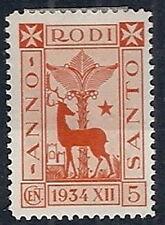 1935 EGEO ANNO SANTO 5 CENT MH * - RR12178