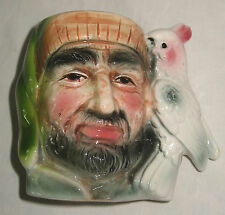 Vintage : Hand painted small sized Character Jug - Pirate