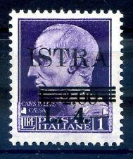 ISTRIA ( POLA ) OCCUPAZIONE JUGOSLAVA 1945 -  Lire 4  NUOVO  **