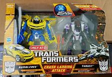 transformers hunt for the decepticons crash landing attack bumblebee thrust