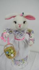 VINTAGE 1989  TELCO ANIMATED MUSICAL EASTER BUNNY RABBIT MOTIONETTES