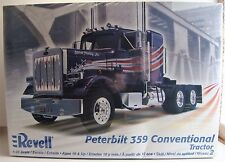 1/25 Revell Peterbilt Model 359 Conventional Tractor New and Sealed