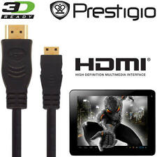 Prestigio MultiPad 4 DIAMOND 10.1 3G Tablet PC Mini HDMI a HDMI TV 2,5 m Cavo