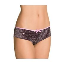 INTIMO DONNA SEXY CULOTTE NERE - SiSi - BLACK PANTIES  TG. 3