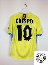 Lazio Crespo #10 01/02 * BNWT * Lejos Camiseta de fútbol (L) fútbol Jersey Serie A
