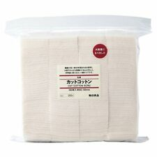 MUJI Authentic Premium Japanese Cotton 100% Unbleached Organic - 180 PADS - Vape