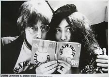 """JOHN LENNON & YOKO ONO POSTER """"SELFRIDGES LONDON JULY 1971"""" - BEATLES"""
