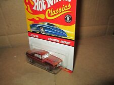 Hot Wheels CLASSICS '69 Pontiac Firebird spectraflame red chrome 1:64 1969 # 23