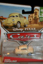 "DISNEY PIXAR CARS 2 ""MAMA TOPOLINO"" NEW IN PACKAGE, SHIP WORLDWIDE"